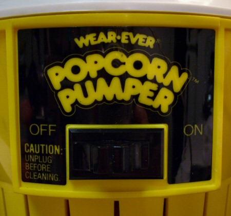 Popcorn Pumper Close up